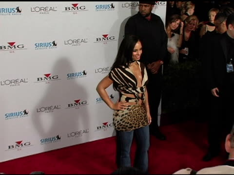 Alicia Keys at the Clive Davis' 2005 PreGrammy Awards Party arrivals at the Beverly Hilton in Beverly Hills California on February 12 2005