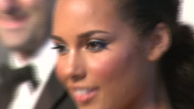 Alicia Keys at the The 2007 CFDA Awards at New York Public Library in New York New York on June 4 2007