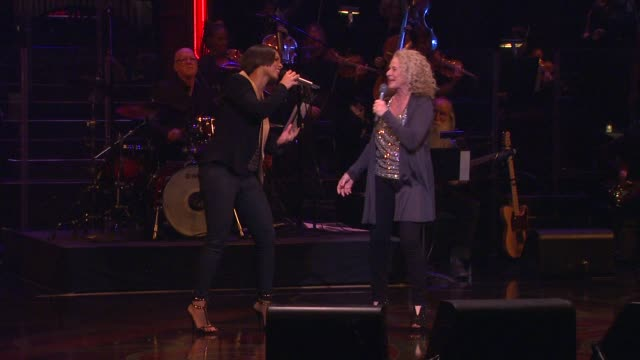 Alicia Keys Carole King The restrictions on the use of performance and interview footage from the evening are as follows 1 You may excerpt up to...