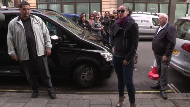 Alicia Keys on September 28 2012 in London England