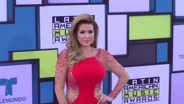 Alicia Machado at the 2016 Latin American Music Awards at Dolby Theatre in Hollywood at 2016 Latin American Music Awards on October 06 2016 in...