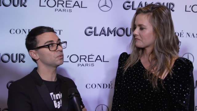 INTERVIEW Alicia Silverstone and Christian Siriano talk about issues women should focus on next and being a women in 2018 at the Glamour's 2018 Women...