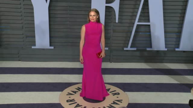 Alicia Silverstone at 2018 Vanity Fair Oscar Party on March 04 2018 in Beverly Hills California