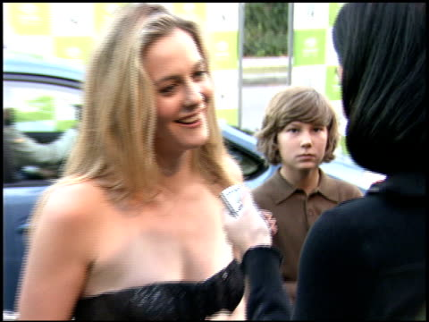 alicia silverstone at the environmental media awards at wilshire ebell theatre in los angeles, california on october 1, 2005. - environmental media awards stock-videos und b-roll-filmmaterial