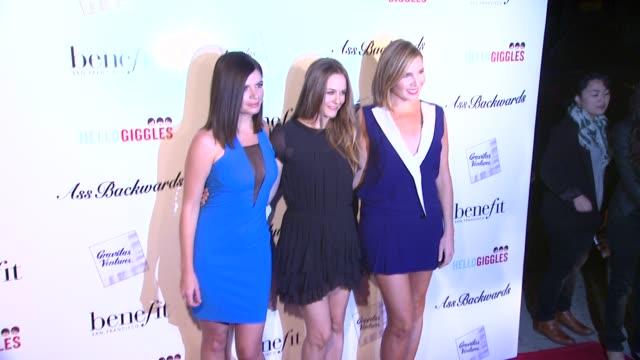 Alicia Silverstone Casey Wilson June Diane Raphael at Ass Backwards Los Angeles Premiere in Los Angeles CA on