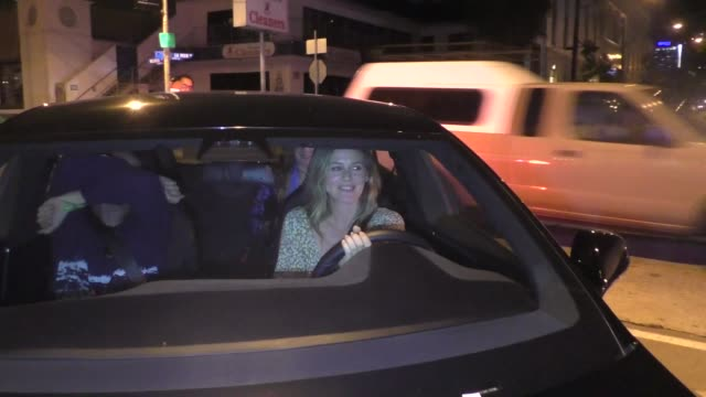 Alicia Silverstone outside of Craig's Restaurant in West Hollywood in Celebrity Sightings in Los Angeles