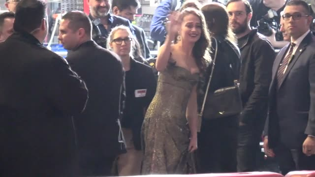 Alicia Vikander arrives at the premiere of Tomb Raider at TCL Chinese Theatre in Hollywood in Celebrity Sightings in Los Angeles