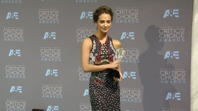 Alicia Vikander at 21st Annual Critics' Choice Awards in Los Angeles CA