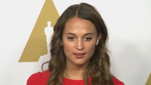 Alicia Vikander at 88th Annual Oscars® Nominees Luncheon at The Beverly Hilton Hotel on February 08 2016 in Beverly Hills California