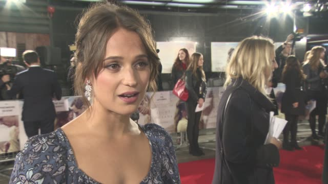 INTERVIEW Alicia Vikander on people seeing the film crying when she read the script Michael Fassbender as an actor having fun on set her bring...
