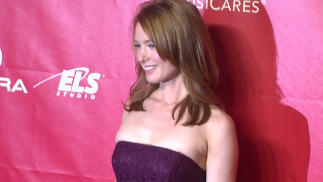 alicia witt at 2014 musicares person of the year honoring carole king at los angeles convention center on in los angeles california - musicares foundation stock videos & royalty-free footage