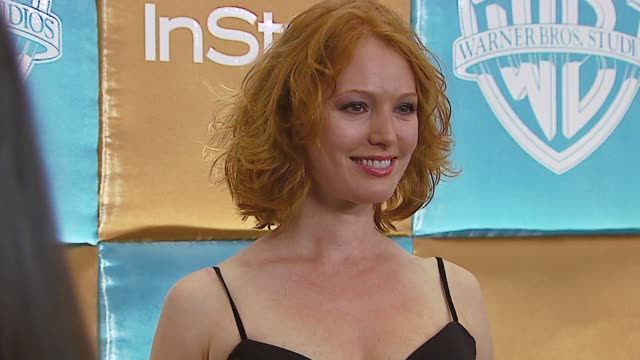 alicia witt at the in style magazine and warner brothers annual golden globes party at the beverly hilton in beverly hills, california on january 15,... - alicia witt stock-videos und b-roll-filmmaterial
