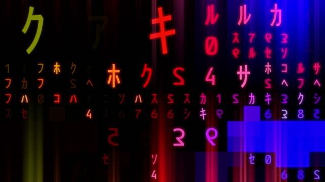 vídeos de stock, filmes e b-roll de código alienígena - idioma