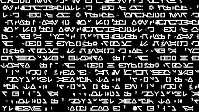 vídeos y material grabado en eventos de stock de alien communication. - jeroglífico
