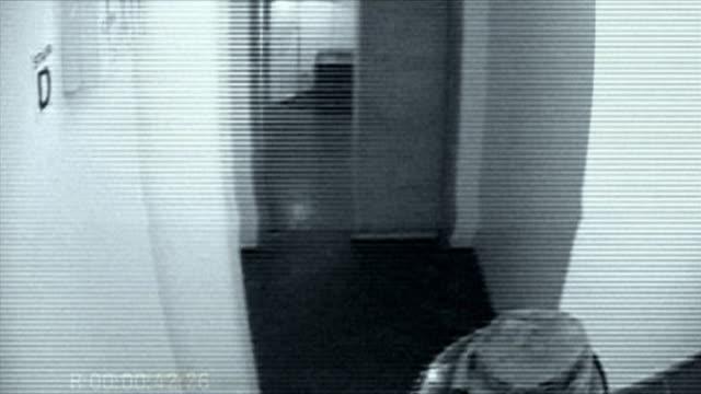 b/w ha pov alien rising from below camera and shooting camera with laser gun / static / brooklyn, new york city - surveillance camera stock videos & royalty-free footage