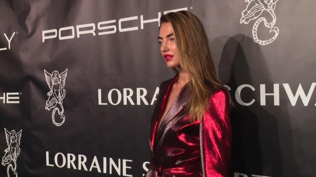 Alina Baikova at Angel Ball 2017 at Cipriani Wall Street on October 23 2017 in New York City