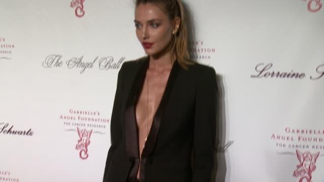 Alina Baikova at Gabrielle's Angel Foundation Hosts Angel Ball 2013 at Cirpriani Wall Street on 10/29/13 in New York NY