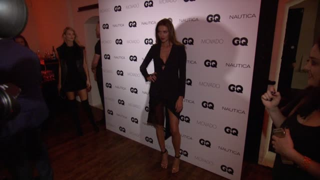 Alina Baikova at GQ Gentlemen's Cocktail Reception Awards Ceremony at The Gent on October 22 2015 in New York City