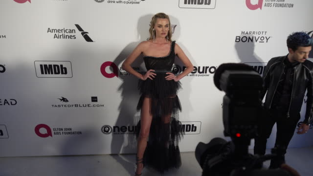 Alina Baikova at the 27th Annual Elton John AIDS Foundation Academy Awards Viewing Party Sponsored By IMDb And Neuro Drinks on February 24 2019 in...