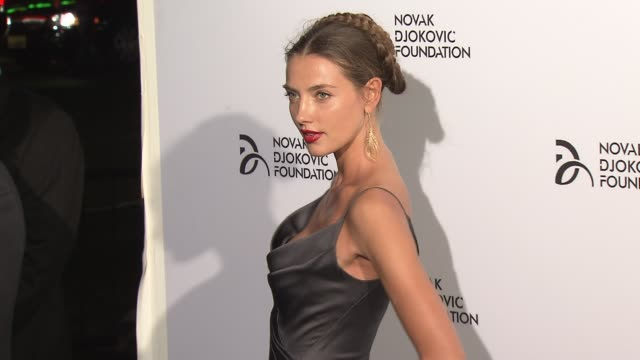 Alina Baikova at The Novak Djokovic Foundation New York Dinner at Capitale on September 10 2013 in New York New York