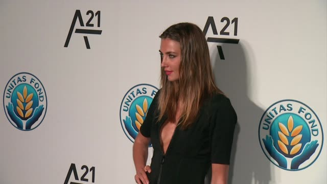 Alina Baikova at Unitas Gala Against Sex Trafficking at Capitale on September 15 2015 in New York City
