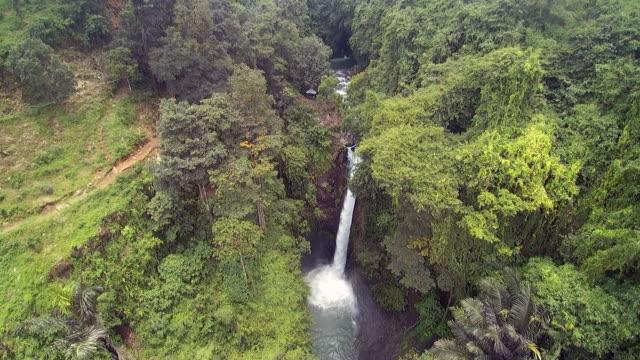 aling aling waterfall singaraja - singaraja stock videos & royalty-free footage