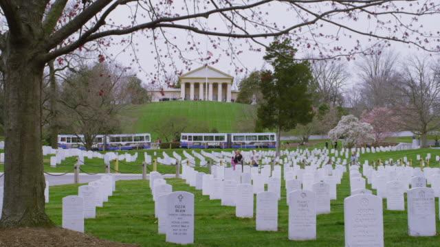 alington national cemetery - アーリントン国立墓地点の映像素材/bロール