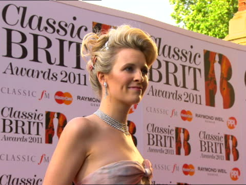 Alison Balsom at the Classic Brit Awards at London England