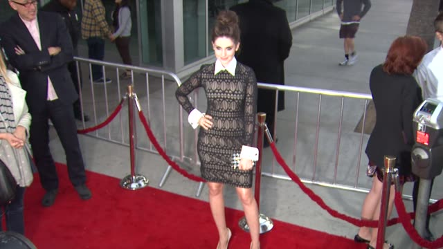 alison brie at amc's mad men season five special premiere screening on 3/14/2012 in hollywood ca - brie stock videos & royalty-free footage