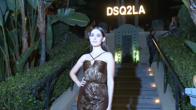 alison brie at dsquared2 celebrates first boutique in the usa with pommery champagne on october 28 2014 in los angeles california - brie stock videos & royalty-free footage
