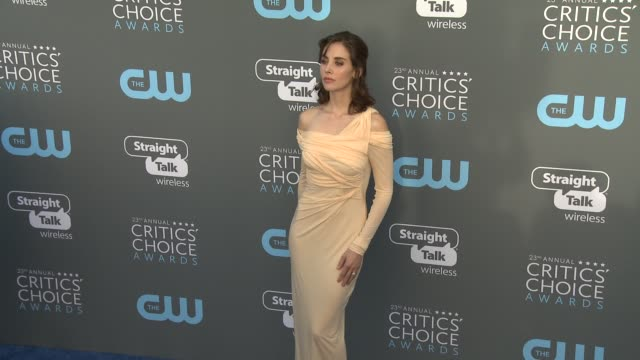 Alison Brie at the 23rd Annual Critics' Choice Awards at Barker Hangar on January 11 2018 in Santa Monica California