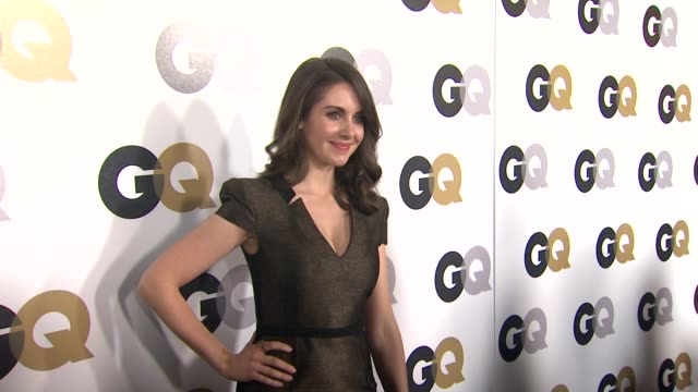 Alison Brie at the GQ's 2011 'Men Of The Year' Party at Los Angeles CA