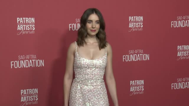 Alison Brie at the SAGAFTRA Foundation's 3rd Annual Patron Of The Artists Awards at Wallis Annenberg Center for the Performing Arts on November 8...