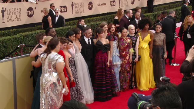 Alison Brie Betty Gilpin Sydelle Noel Marc Maron Britt Baron Kimmy Gatewood Rebekka Johnson Sunita Mani Gayle Rankin Ellen Wong at the 24th Annual...