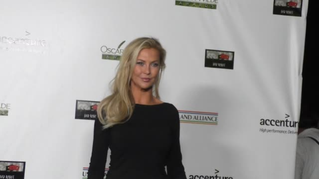 Alison Doody at the 2016 Oscar Wilde Awards at Bad Robot in Santa Monica Celebrity Sightings on February 25 2016 in Los Angeles California