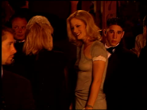 alison eastwood at the 1999 academy awards vanity fair party at morton's in west hollywood, california on march 21, 1999. - 71st annual academy awards stock videos & royalty-free footage