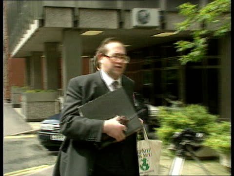 Alison Halford tribunal case ITN Manchester CMS Alison Halford arrives at tribunal hearing surrounded by press PAN MS Counsel for Halford Endred...