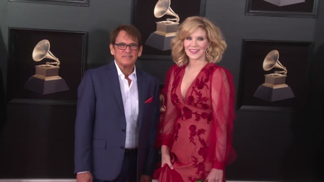 Alison Krauss and Ron Browning at 60th Grammy Awards Celebration Party at Madison Square Garden on January 28 2018 in New York City