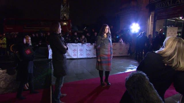 vidéos et rushes de alison moyet *guardian & telegraph out* at the prince's trust rock gala 2010 arrivals at london england. - rock moderne
