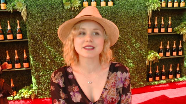 INTERVIEW Alison Pill on being at the event on her polo style and on the upcoming season of 'The Newsroom' at the FifthAnnual Veuve Clicquot Polo...