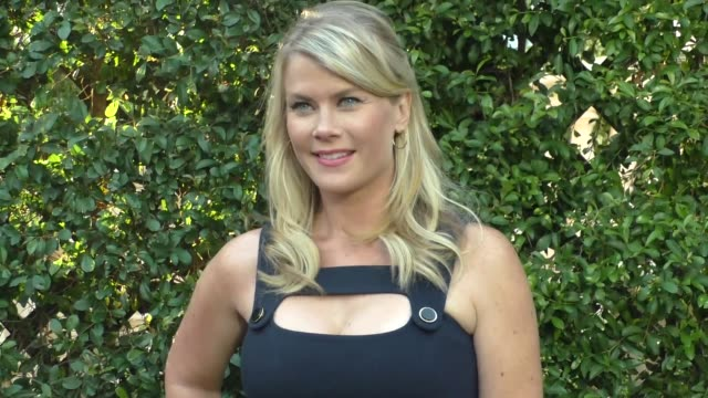 Alison Sweeney arriving to the 2015 Summer TCA Tour Hallmark Channel and Hallmark Movies And Mysteries in Beverly Hills in Celebrity Sightings in Los...