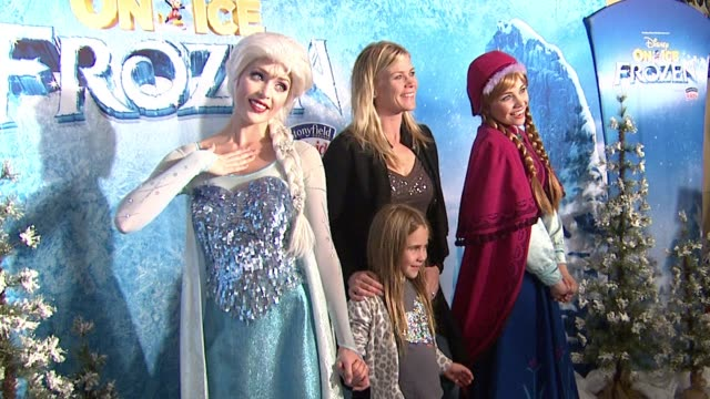 Alison Sweeney at Disney On Ice presents Frozen Los Angeles Celebrity Premiere in Los Angeles CA