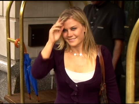 Alison Sweeney at NBC Upfronts at the Ritz Carlton