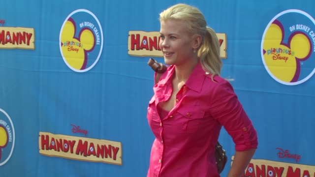 Alison Sweeney at the Exclusive Premiere of Disney Channel's 'Handy Manny Motorcycle Adventure' at Hollywood CA