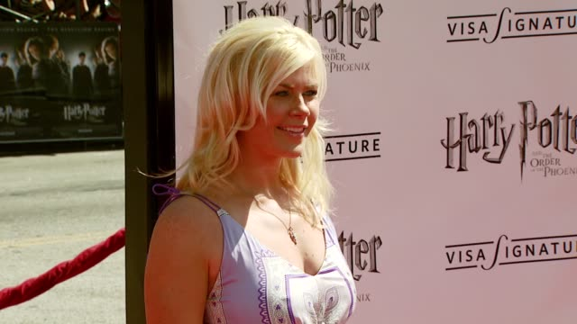 Alison Sweeney at the 'Harry Potter and the Order of the Phoenix' US Premiere at Grauman's Chinese Theatre in Hollywood California on July 8 2007