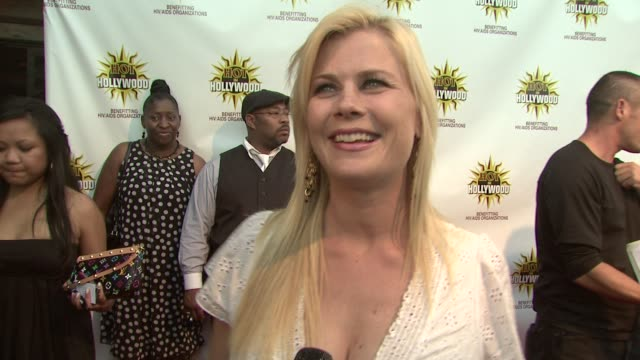 Alison Sweeney at the HOT IN HOLLYWOOD ANNUAL EVENT at Los Angeles CA