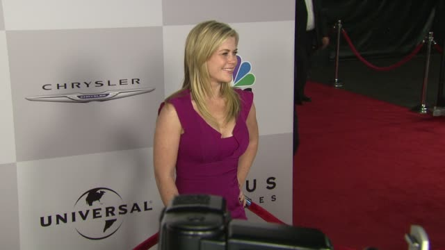 Alison Sweeney at the NBC Universal's 68th Annual Golden Globes After Party at Beverly Hills CA