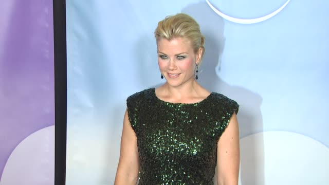 Alison Sweeney at the NBC Universal's Press Tour Cocktail Party at Pasadena CA