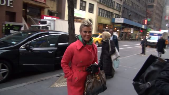 Alison Sweeney at the 'TODAY' show studio in New York NY on 1/4/13