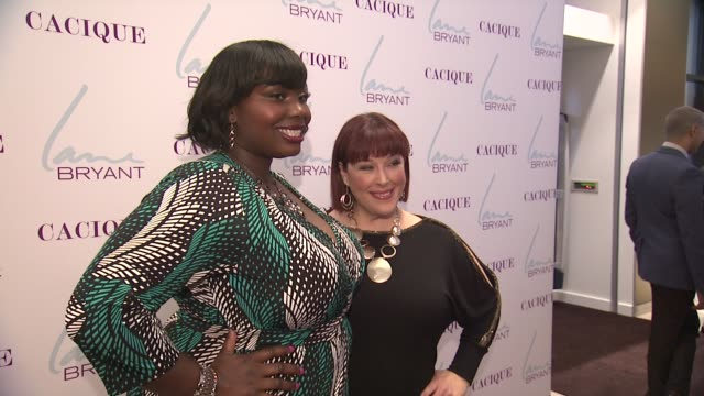 Alissa Wilson and Carnie Wilson at Lane Bryant 34th Street Flagship Store Opening Party at Lane Bryant Flagship Store on February 28 2013 in New York...